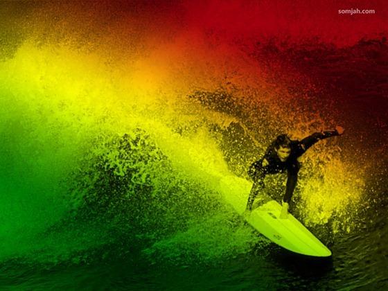 papel de parede surf reggae 03