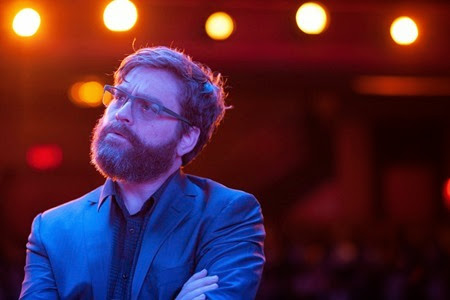 "Zach Galifianakis as ""Jake"" in BIRDMAN. Photo by Alison Rosa. Copyright © 2014 Twentieth Century Fox."