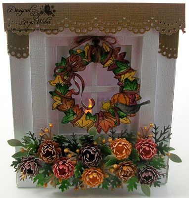 Fall Wreath Window Luminaria1