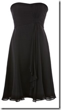 Coast Black Cocktail Dress