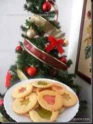 Biscoitos de natal para o desafio de Natal da Piteca1