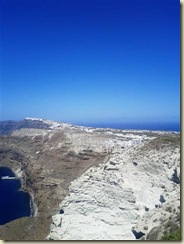 View across the Island of Santorini (Small)