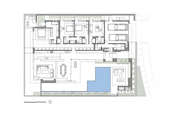 Plano-casa-minimalista-con-piscina