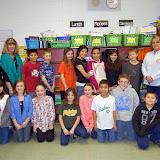 WBFJ Cici's Pizza Pledge-Grays Chapel School-Ms. Hedrick's 4th Grade Class-Franklinville