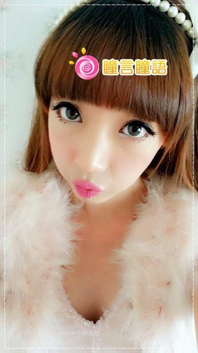 韓國GEO隱形眼鏡-GEO Eyes Cream 霜淇淋灰11