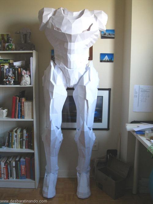armadura metroid samus papercraft papel desbaratinando  (10)