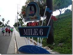 Disneyland Half Marathon Mile 6