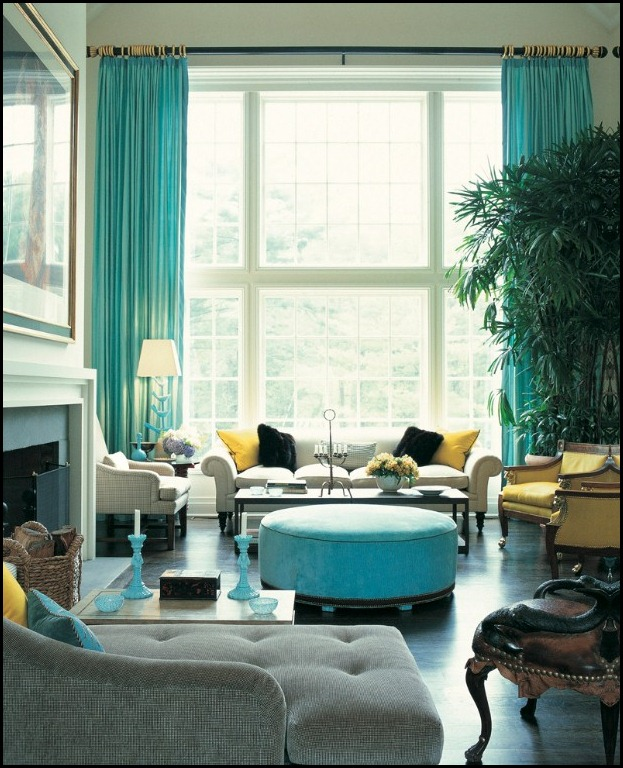 drake design turquoise living room (617x762)