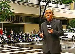 As acusações contra o jornal Folha de S. Paulo