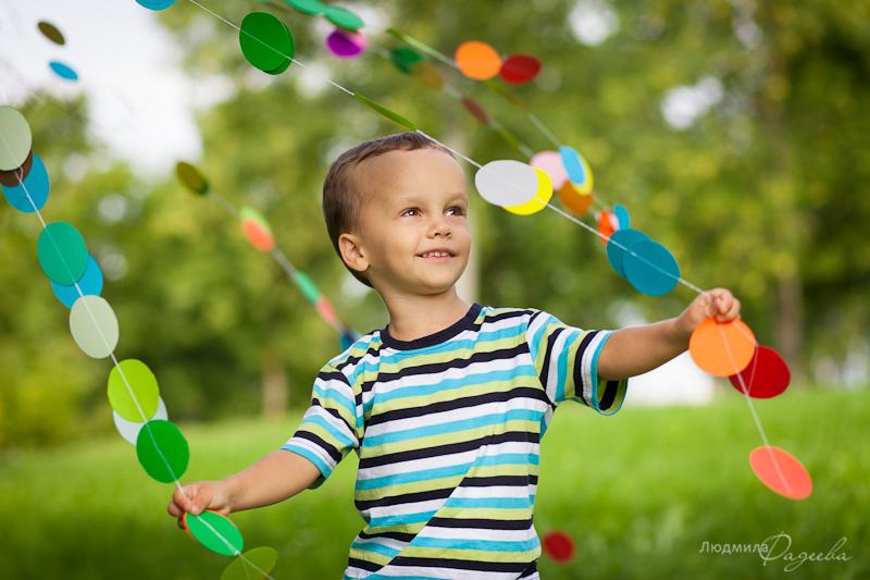 Детский фотопроект Радуга детства. Никита