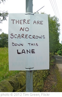 'There Are No Scarecrows Down This Lane' photo (c) 2012, Tim Green - license: http://creativecommons.org/licenses/by/2.0/