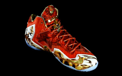 nike lebron 11 gr 2k14 3 01 Video: Nike LeBron 11 NBA 2K14 Limited Edition