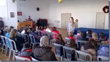 Ενημερωτική ομιλία από την Κοινωνική Λειτουργό του Χωριού