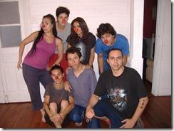 Alumnos con Cacho Gallegos