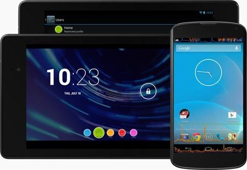 Android 4.3 llegó oficialmente