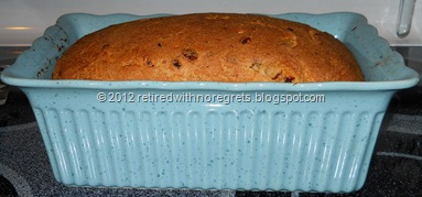 Cinnamon Dried Fruit Bread - Bread Mix - just out of oven II