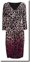 Coast Aminal Print Jersey Dress