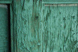 Hami - Porte en bois vert tombeau des rois hui