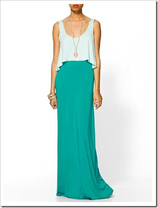 covering tank maxi dress