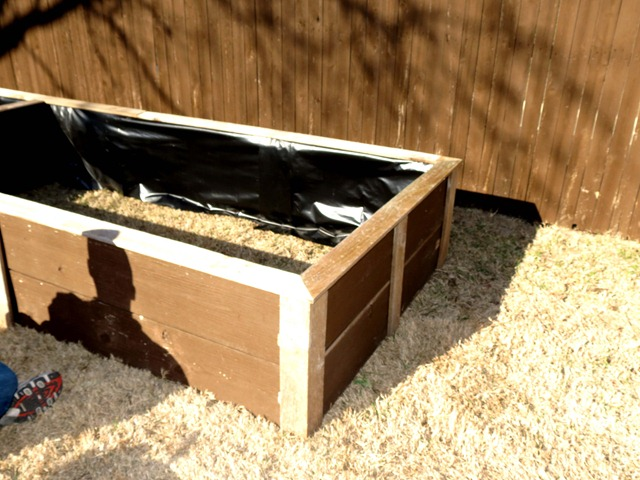 building raised garden box style with cents5