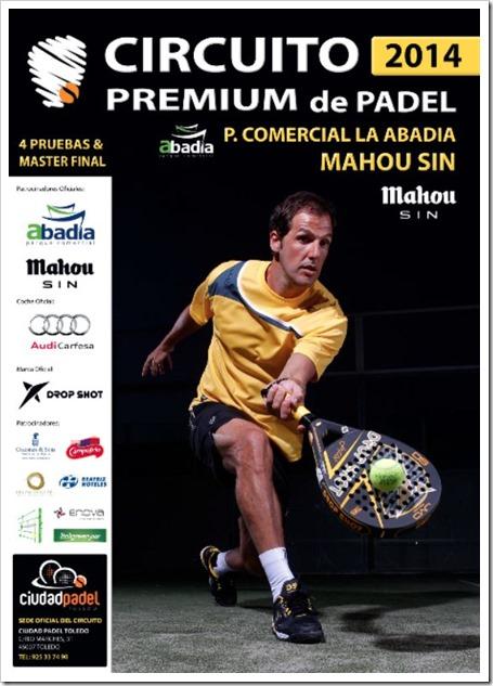 PRESENTACIÓN Circuito Premium Pádel Mahou sin 2014 en Ciudad Pádel Toledo
