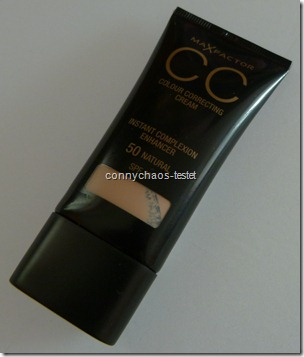 CC CReam Max Factor 50 Natural