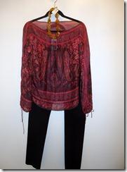 Rebecca Taylor silk top $39.99