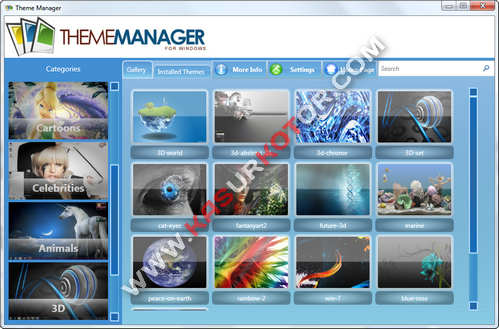 Theme Manager untuk Windows 7