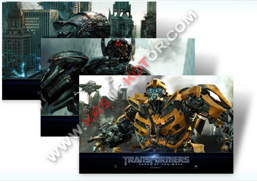 Download Transformers 3 Theme - Windows 7