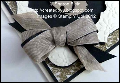 use two layers of ribbon to create layered double loop bow