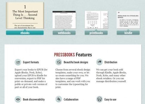 PressBook - libros en formato digital