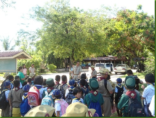 โรงเรียนบ้านรสำราญหินลาด004ปัจฉิมนิเทศ ป.6 2553
