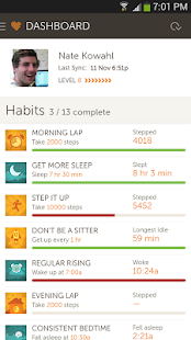 Basis B1 Fitness&Sleep Tracker - screenshot