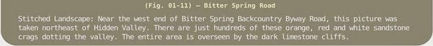 Image Title Bar 125 Fig 01-12 Bitter Spring Rd