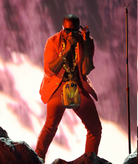 Kayne West at BET awards