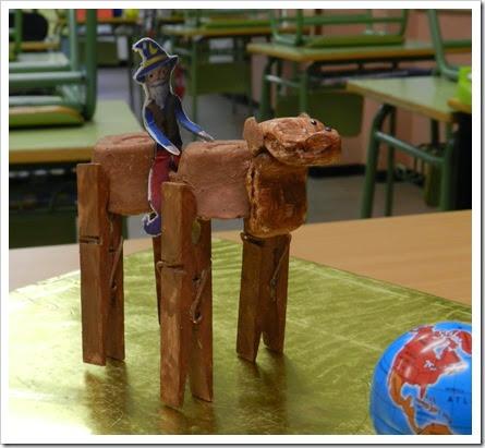 Ismaíl e o seu camelo bactriano