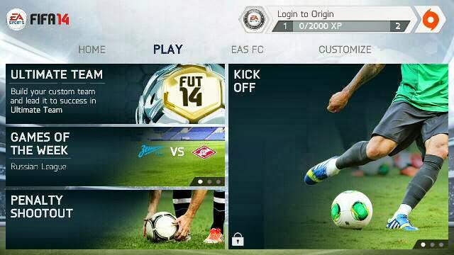FIFA 14 by EA SPORTS для андроид