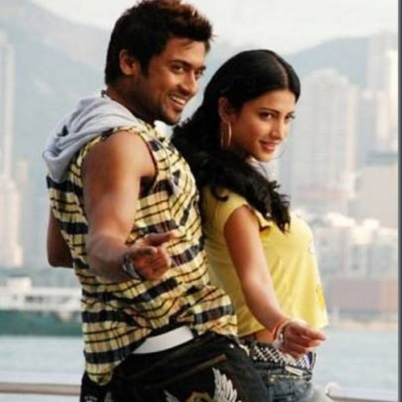 Suriya and Shruti Hassan 7am arivu shooting stills!