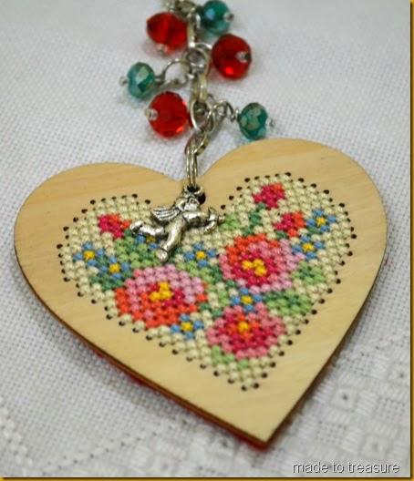 valentines bag charm