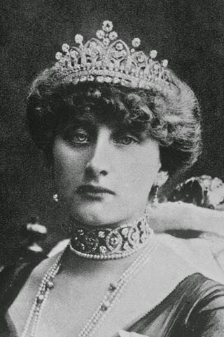 Augusta Victoria Hohenzollern Sigmaringen, reina de Portugal.