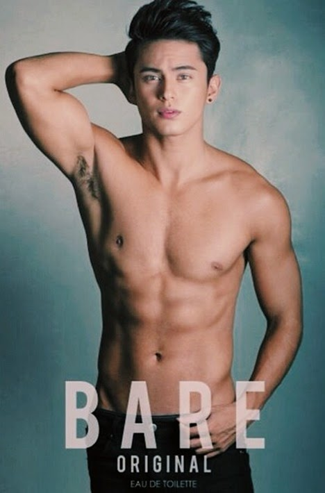 James Reid for Mint Bare fragrance
