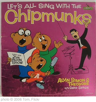 'Let's All Sing With the Chipmunks' photo (c) 2006, Tom - license: http://creativecommons.org/licenses/by/2.0/