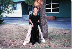 Amy, Ebony- 1st day of 5th grade- 1999