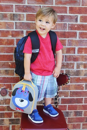 Nash's 1st day of School & Baylor Game 095