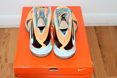 nike lebron 10 ps elite shooting starts pe 5 02 LEBRON X PS Elite Peach Jam AAU EYBL Shooting Stars PE