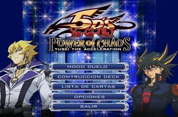 yu-gi-oh power of chaos 5ds yusei the acceleracion