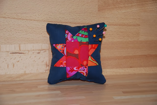wonky star pincushion