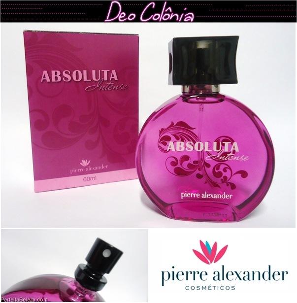 deo colônia- Pierre Alexander