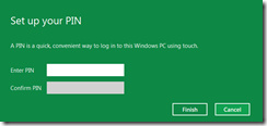 How To Setup PIN To Logon In Windows 8 3