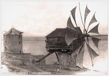 Мерьница. Фото Несебра начала XX века. Болгария. www.timeteka.ru